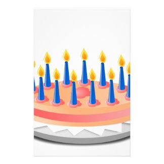 Birthday Cake Stationery