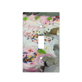 Birthday Cake Sweets Light Switch Cover