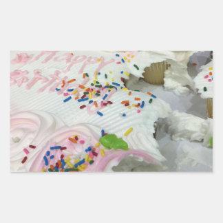 Birthday Cake Sweets Sticker