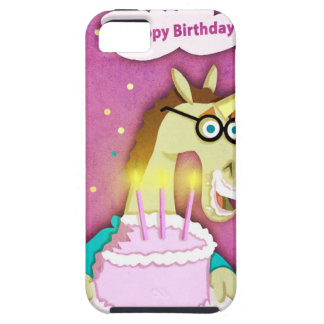 Birthday Cake Unicorn iPhone 5 Case