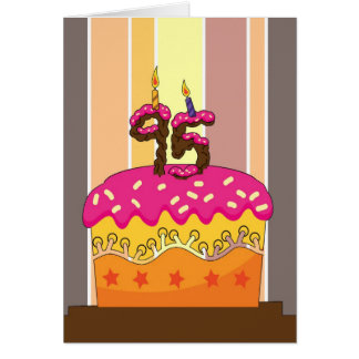 birthday - cake with candles 95 - 95th birthday gr card