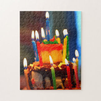 Birthday Cake with Candles Puzzles