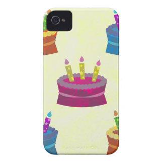 Birthday Cakes iPhone 4 Case-Mate Cases
