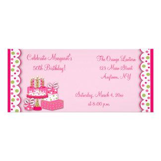 Birthday Candles Invitation