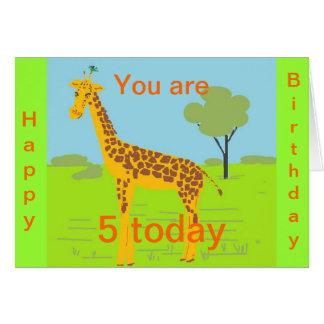 Birthday Card 5 today
