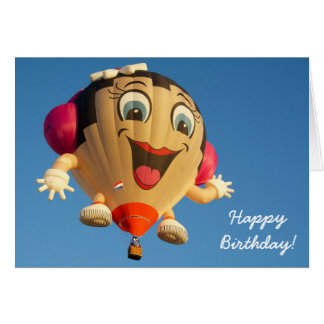 Birthday Card Balloon