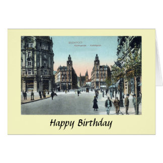 Birthday Card - Budapest, Hungary