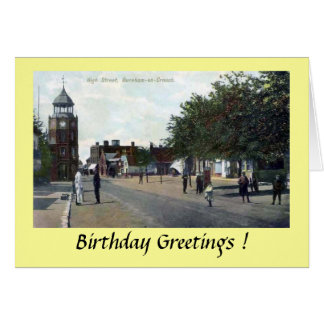 Birthday Card - Burnham-on-Crouch, Essex