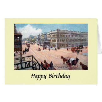 Birthday Card - Cape Town, South Africa