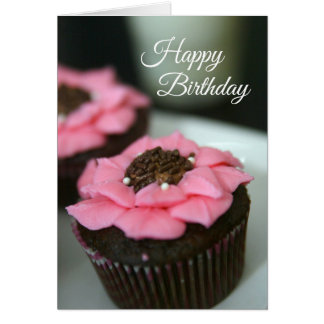 Birthday Card Cupcakes