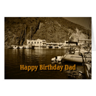 Birthday Card  -  Dad