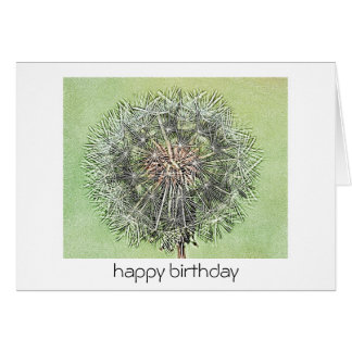 Birthday Card - Dandelion