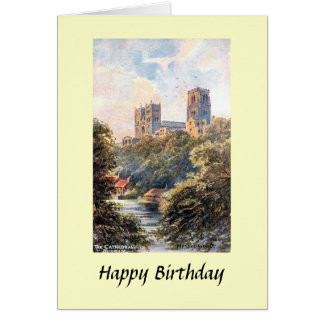 Birthday Card - Durham Cathedral