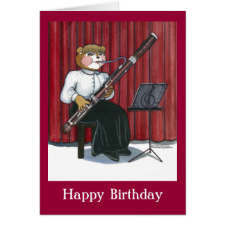 Birthday Card for a Musician