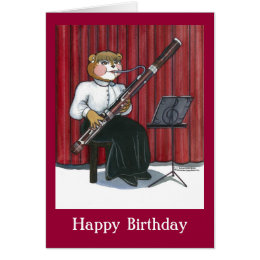 Birthday for musicians cards photocards invitations more birthday card for a musician bookmarktalkfo Image collections