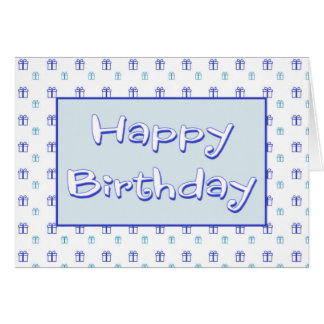 Birthday Card For Him