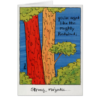 Birthday Card For Him - Redwood