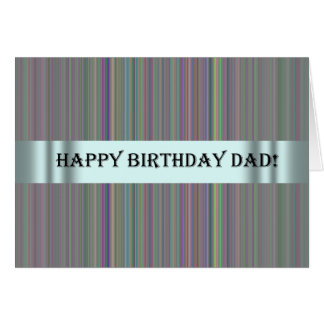 Birthday Card for s Special Dad