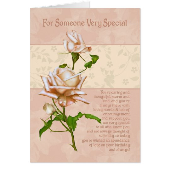 Birthday Card For Someone Very Special
