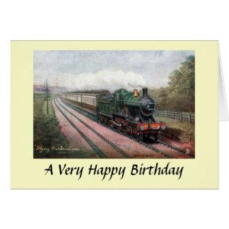 """Birthday Card - GWR """"Flying Dutchman"""""""
