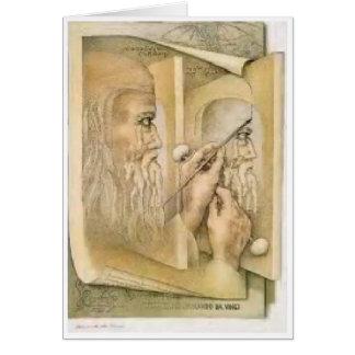 Birthday card - Leonardo Da Vinci