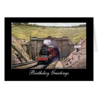 Birthday Card, Midland Railway Card