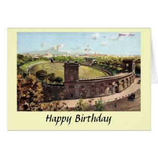 Birthday Card - Milan