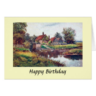 Birthday Card - Norfolk Broads
