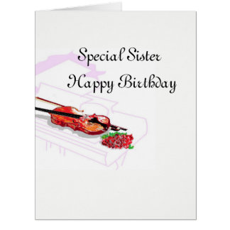 Birthday Card : Special Sister