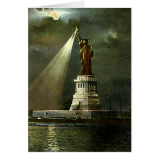 Birthday Card - Statue of Liberty