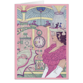 Birthday Card - Steampunk