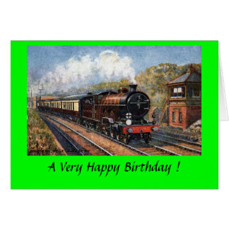 Birthday Card - the Southern Belle