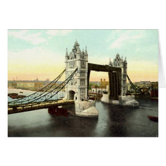 Birthday Card, Tower Bridge, London Card