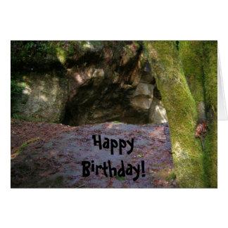 Birthday Caveman Greeting Card