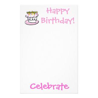 birthday, Celebrate, Happy Birthday! Stationery