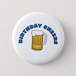 Birthday Cheers 2 Inch Round Button