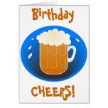 Birthday Cheers! Greeting Card