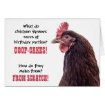 Birthday Chicken Jokes with Hen Photo