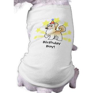 Birthday Chinese Crested (powderpuff) Doggie Tee