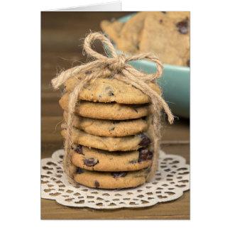 birthday chocolate chip cookies card