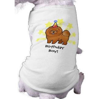 Birthday Chow Chow Pet Tee