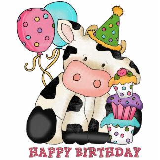 Birthday Cow Sculpture Standing Photo Sculpture
