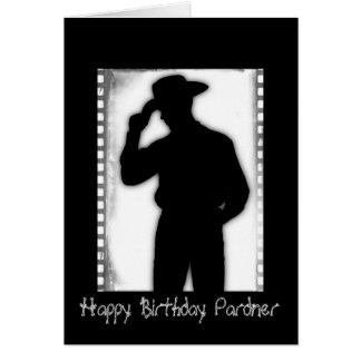 Birthday Cowboy Greeting Card