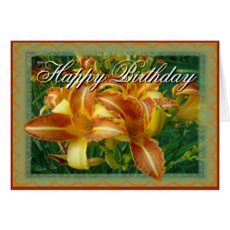 Birthday-crnflw-customize Card