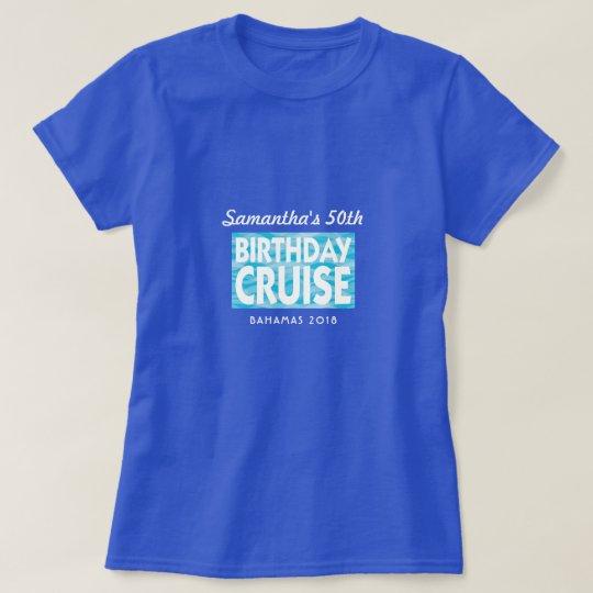 Birthday Cruise group vacation T-Shirt
