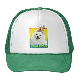 Birthday Cupcake - American Eskimo Mesh Hat