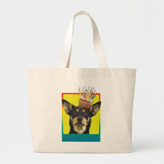 Birthday Cupcake - Australian Kelpie - Jude Jumbo Tote Bag