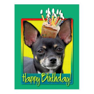 Birthday Cupcake - Chihuahua - Isabella Postcard