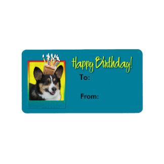 Birthday Cupcake - Corgi