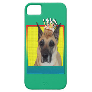 Birthday Cupcake - Great Dane iPhone 5 Covers